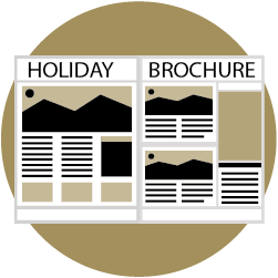 holiday brochure design service