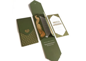 1920s luxury invitation design