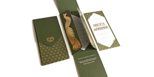1920s luxury invitation design