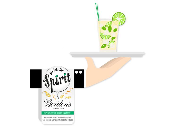 Gordon's Gin POS Concept