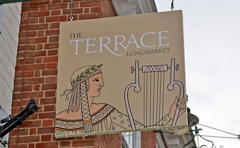 The Terrace Longmarket Wayfinding Project