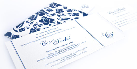 pocket style invite design
