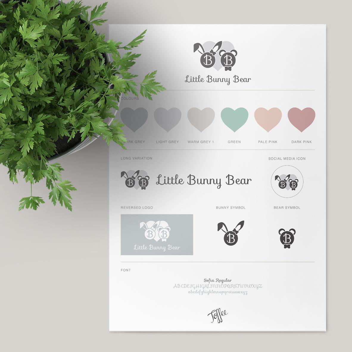 Little Bunny Bear Logo