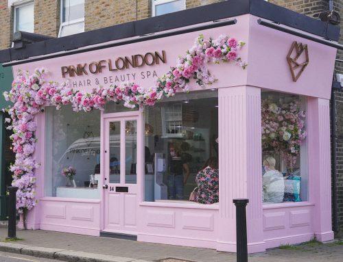 Pink of London Branding