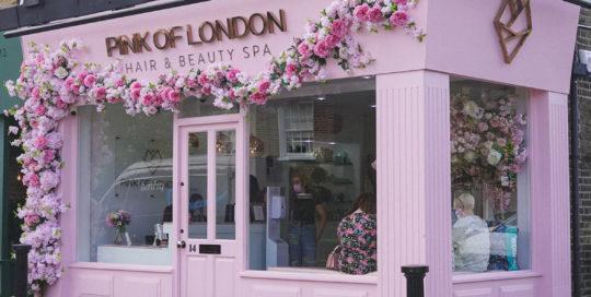 Pink of London Shopfront
